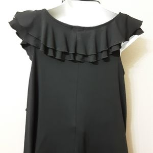 Cocomo Tops - Sleveles Black Top Size  M.